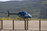 Phil talked us into taking a ride in the Helocopter.....   DSC 1872